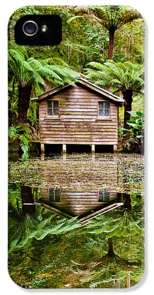 Reflections On The Pond IPhone 5 Case by Az Jackson
