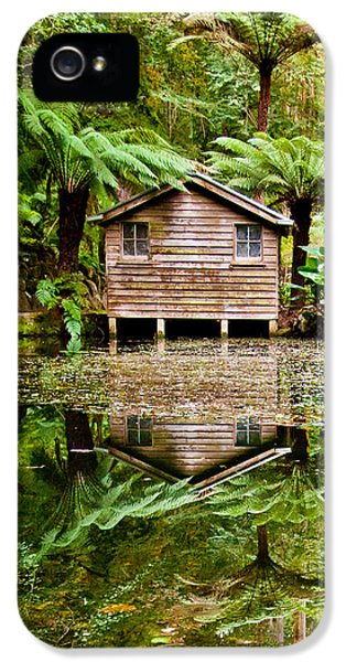 Featured Images iPhone 5 Case - Reflections On The Pond by Az Jackson