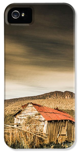 Damage iPhone 5 Case - Regional Ranch Ruins by Jorgo Photography - Wall Art Gallery