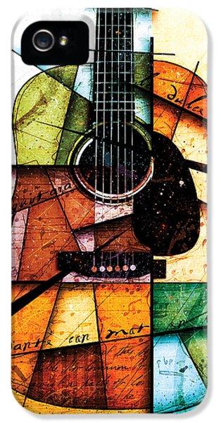 Resonancia En Colores IPhone 5 Case by Gary Bodnar