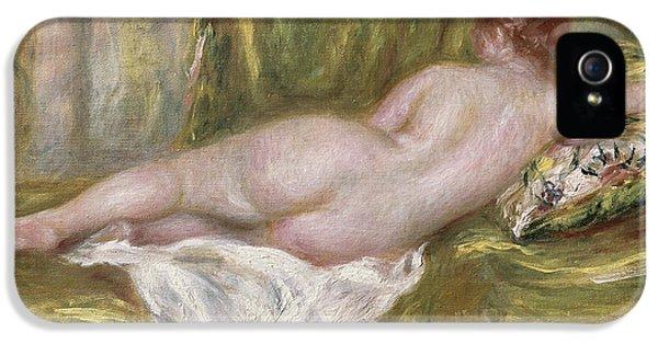 Rest After The Bath IPhone 5 Case by Pierre Auguste Renoir