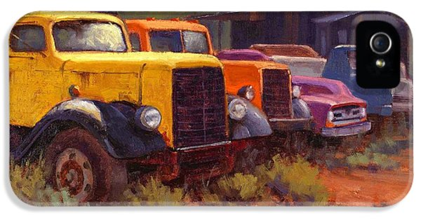 Truck iPhone 5 Case - Retirement Home by Cody DeLong