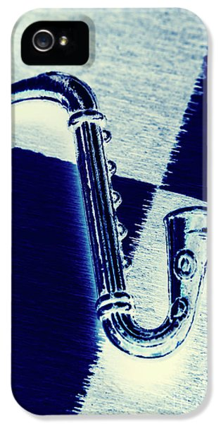 Saxophone iPhone 5 Case - Retro Blues by Jorgo Photography - Wall Art Gallery