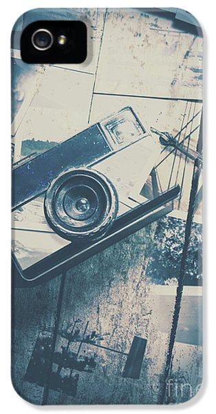Retro Camera And Instant Photos IPhone 5 Case