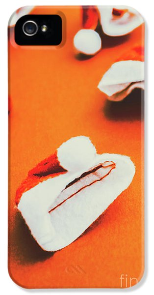 Retro Christmas Hats IPhone 5 Case by Jorgo Photography - Wall Art Gallery