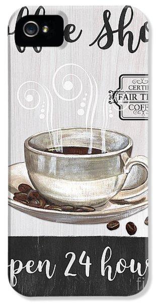 Retro Coffee Shop 1 IPhone 5 Case