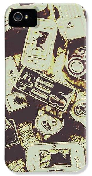 Retro Computer Games IPhone 5 Case