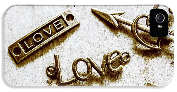 Pendant iPhone 5 Case - Retro Love Heart Jewels  by Jorgo Photography - Wall Art Gallery