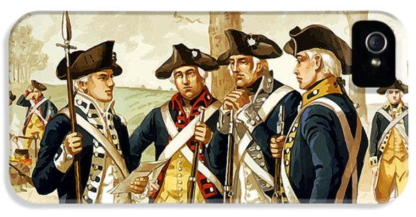 Revolutionary War Infantry IPhone 5 Case by War Is Hell Store
