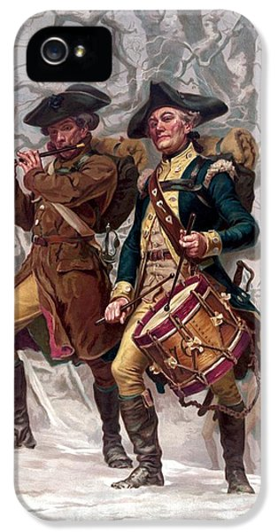 Revolutionary War Soldiers Marching IPhone 5 Case by War Is Hell Store