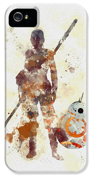 Rey And Bb8 IPhone 5 Case
