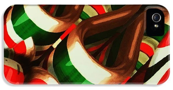 Ribbon Candy  IPhone 5 Case by Sandy Taylor