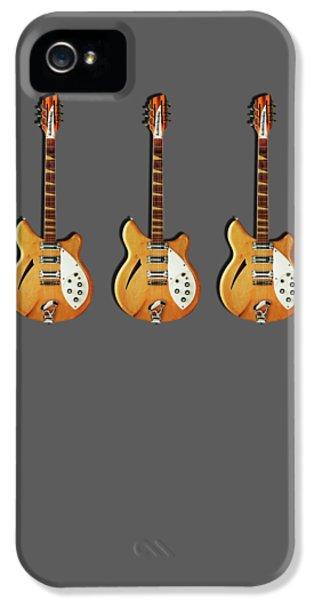 Rickenbacker 360 12 1964 IPhone 5 Case by Mark Rogan