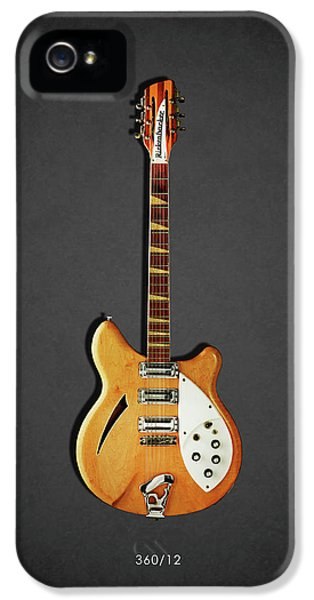 Music iPhone 5 Case - Rickenbacker 360 12 1964 by Mark Rogan