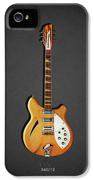 Guitar iPhone 5 Case - Rickenbacker 360 12 1964 by Mark Rogan
