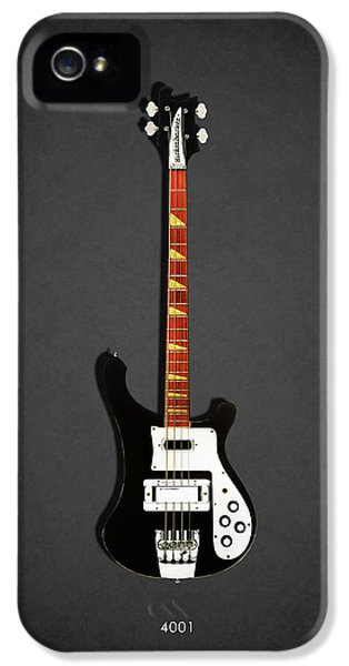 Guitar iPhone 5 Case - Rickenbacker 4001 1979 by Mark Rogan
