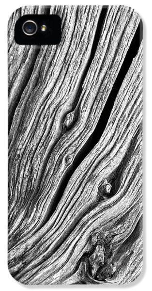 IPhone 5 Case featuring the photograph Ridges - Bw by Werner Padarin