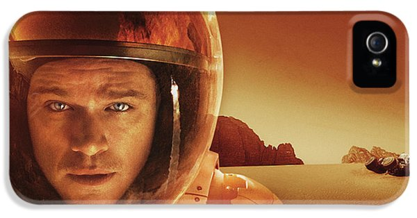 Ridley Scott The Martian IPhone 5 Case by F S