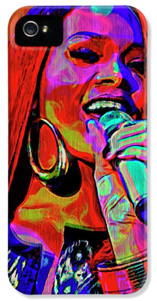 Rihanna  IPhone 5 Case by  Fli Art