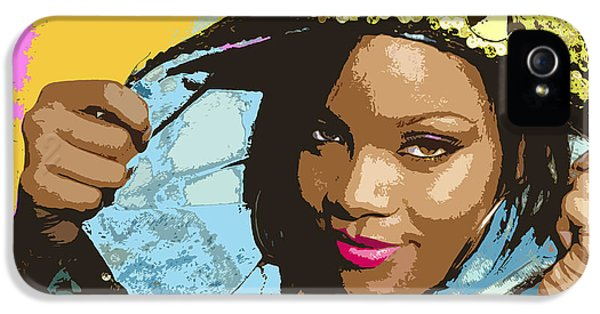 Rihanna IPhone 5 Case by John Keaton