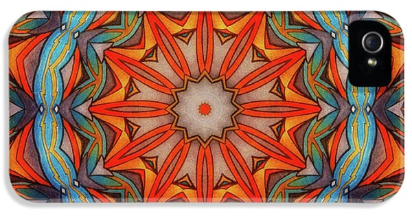 Ring Of Fire IPhone 5 Case by Mo T
