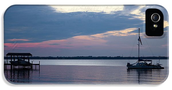 IPhone 5 Case featuring the photograph River Sunset by Anthony Baatz