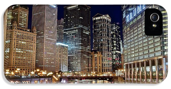 River View Of The Windy City IPhone 5 Case by Frozen in Time Fine Art Photography