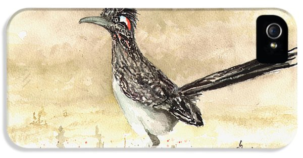 Roadrunner iPhone 5 Case - Roadrunner by Sam Sidders