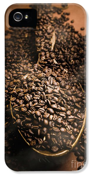 Roasting Coffee Bean Brew IPhone 5 Case by Jorgo Photography - Wall Art Gallery