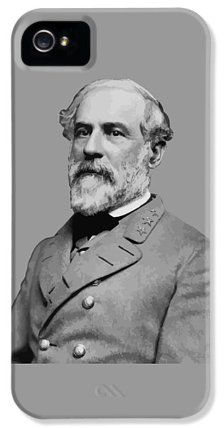 Robert E Lee - Confederate General IPhone 5 Case