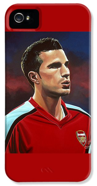 Robin Van Persie IPhone 5 / 5s Case by Paul Meijering