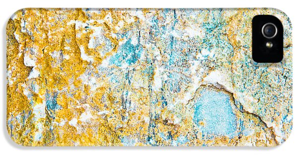 Rock Texture IPhone 5 Case by Tom Gowanlock