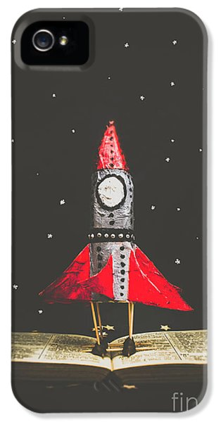 Rockets And Cartoon Puzzle Star Dust IPhone 5 Case by Jorgo Photography - Wall Art Gallery