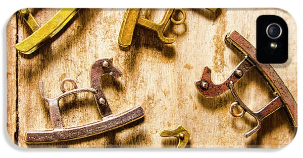 Rocking Horses Art IPhone 5 / 5s Case by Jorgo Photography - Wall Art Gallery