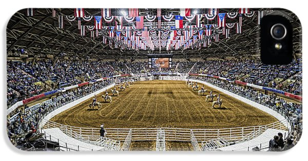 Bunting iPhone 5 Case - Rodeo Time In Texas by Stephen Stookey