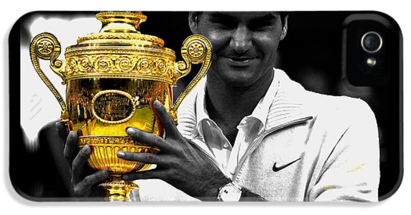 Roger Federer 2a IPhone 5 Case