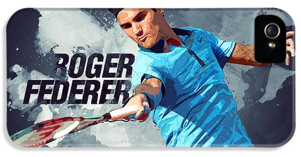 Roger Federer IPhone 5 Case