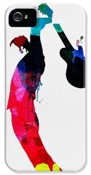 Roger Watercolor IPhone 5 Case by Naxart Studio