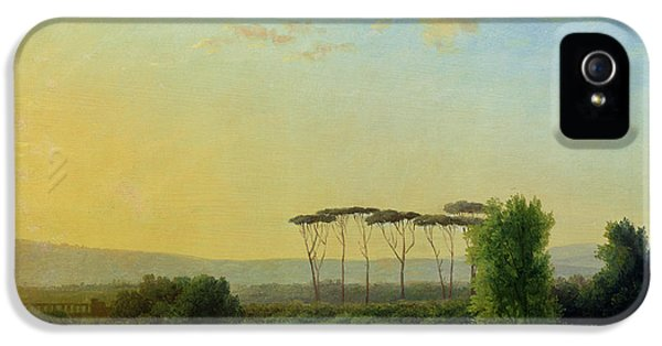 Roman Countryside IPhone 5 Case by Pierre Henri de Valenciennes
