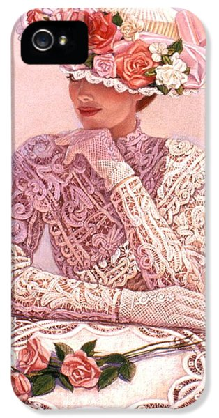 Day iPhone 5 Case - Romantic Lady by Sue Halstenberg