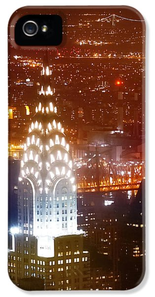 Romantic Manhattan IPhone 5 Case by Az Jackson