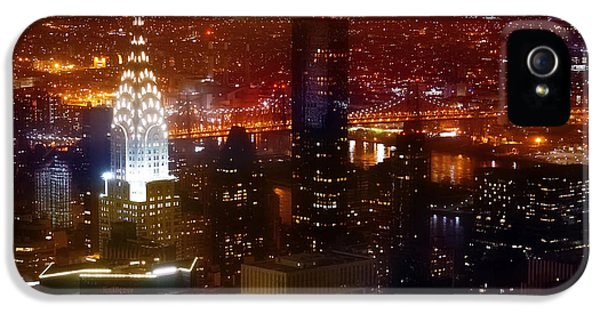 Romantic Skyline IPhone 5 Case by Az Jackson