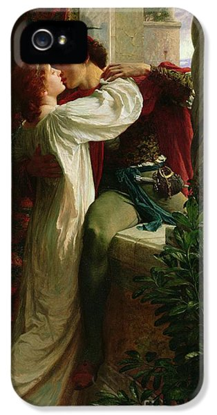 Romeo And Juliet IPhone 5 Case by Sir Frank Dicksee