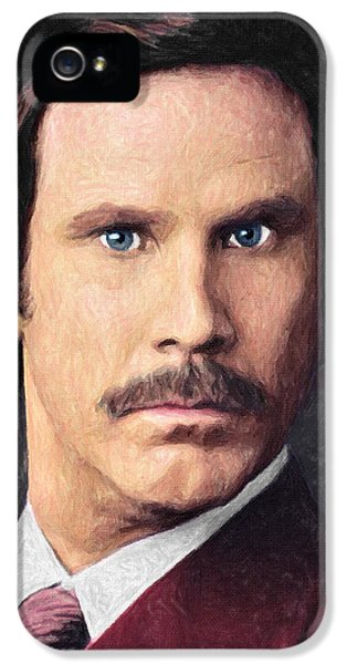 Ron Burgundy IPhone 5 Case