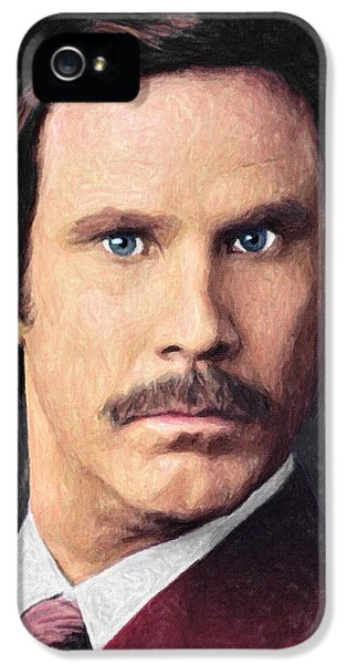Elf iPhone 5 Case - Ron Burgundy by Zapista