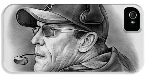 Panther iPhone 5 Case - Ron Rivera by Greg Joens