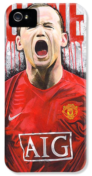 Rooney IPhone 5 / 5s Case by Jeff Gomez