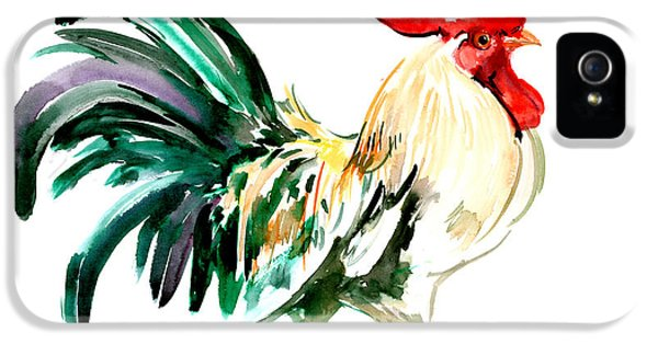 Rooster IPhone 5 / 5s Case by Suren Nersisyan