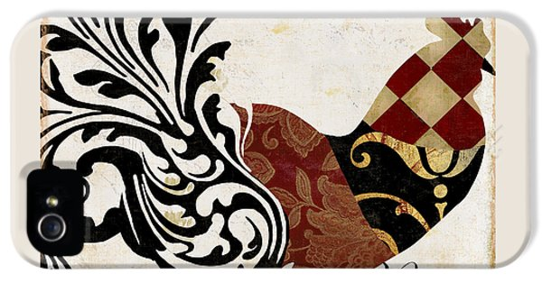 Rooster iPhone 5 Case - Roosters Of Paris II by Mindy Sommers
