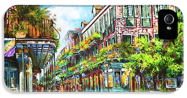 Town iPhone 5 Case - Royal At Pere Antoine Alley, New Orleans French Quarter by Dianne Parks
